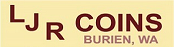 Logo of LJR Coins Burien